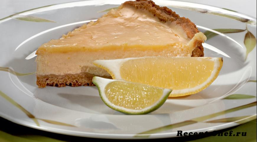 Лимонный чизкейк