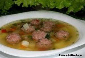Рецепт супа с фрикадельками