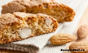 «Кантучини» — печенье с миндалем