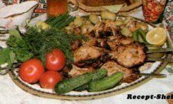Рецепт шашлыка из окорочков