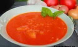 Рецепт супа с рыбой и помидорами
