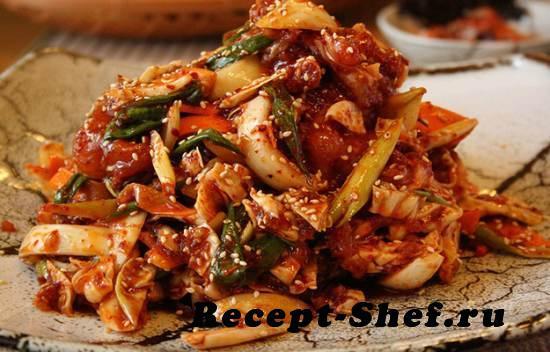 Азиатская говядина с овощами