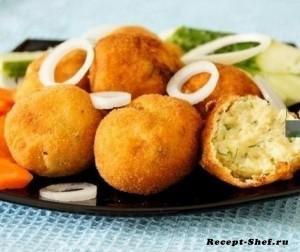Рецепт картофельных крокетов
