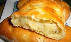 Пирожки с картофелем и укропом
