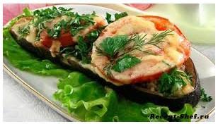 Рецепт приготовления фаршированных баклажанов