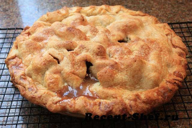 Яблочный пирог «Гости на пороге»