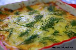 ецепт второго блюда из кабачков по-домашнему с яйцами, чесноком и помидорами