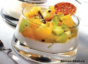 «Вебер» салат-гриль из фруктов