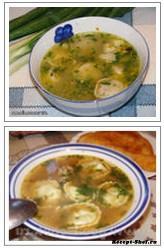 Рецепт супа с пельменями