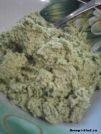 Рецепт сырой гороховой каши из проростков и зелени
