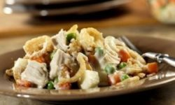 Сытный салат «Обжорка»