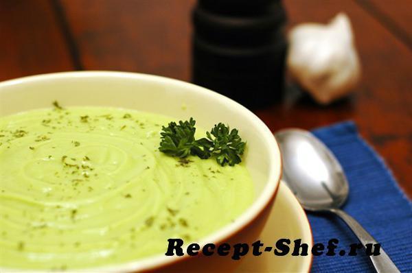 Холодный суп-пюре