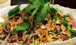 Вьетнамский рисовый салат
