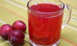Сливово-вишневый сок