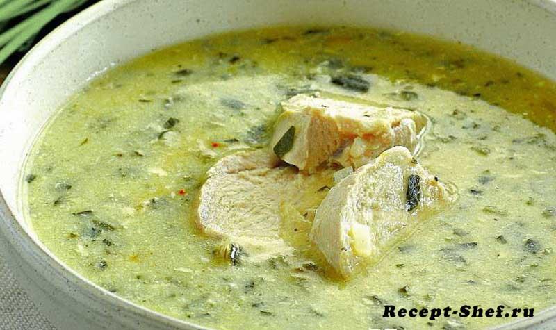 Чихиртма (грузинский густой суп)