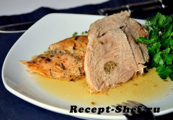 Запеченная свинина по-итальянски