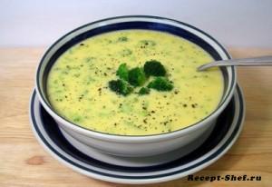 Простой рецепт сырного супа