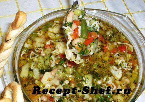Овощной суп «Изобилие»