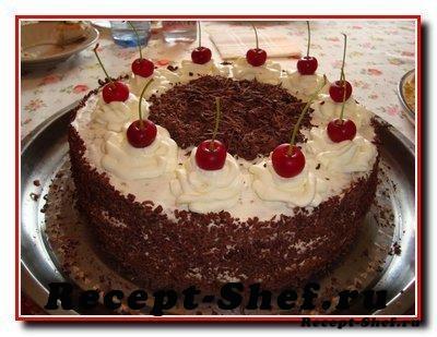 Торт «Вишенка»