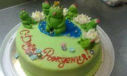 Торт «Лягушонок»