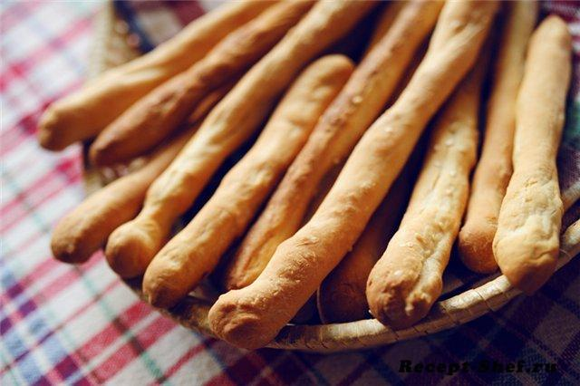 Хлебные палочки домашние