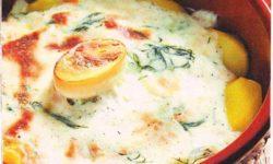 Картофель, запеченный с брынзой
