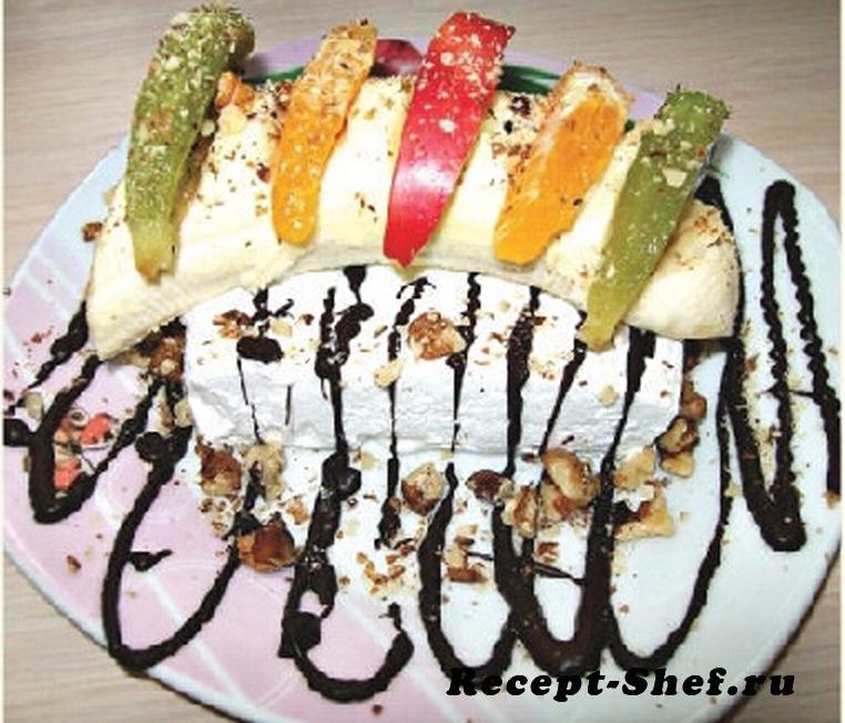 Десерт-мороженое «Искушение лета»