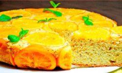 Кекс с апельсинами «Солнечный»