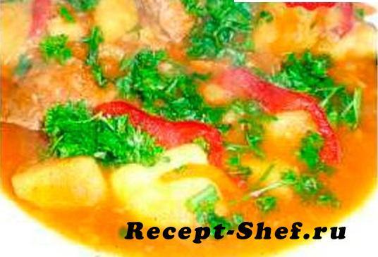 Суп «Как второе»