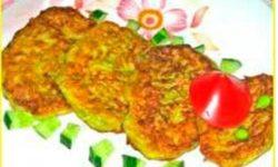 Оладьи из кабачков и картофеля «Веселые жучки»
