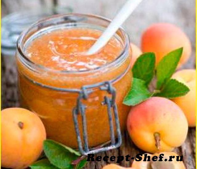 абрикосовое желе на зиму