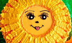 Торт «Солнечная улыбка»