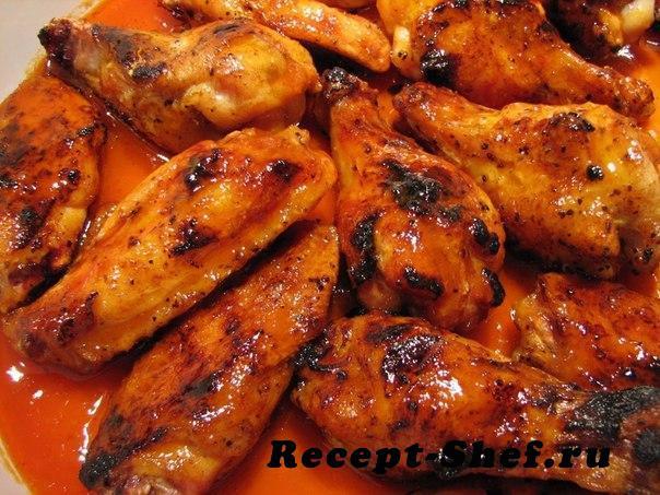 Куриные крылышки в китайском соусе