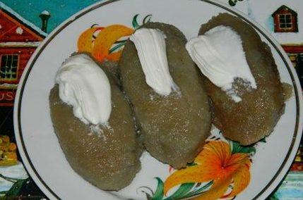 Цеппелины — картофельные дирижаблики в оригинальном исполнении