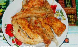 Куриная грудка в томатной пасте
