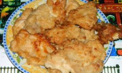 Куриные отбивные в соевом соусе