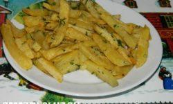 Картофель фри по-домашнему