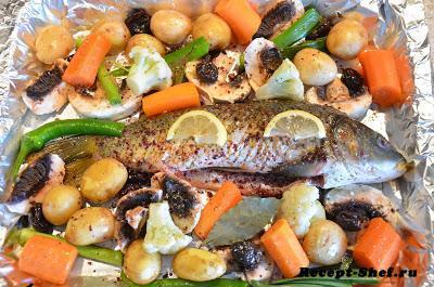 Постные рецепты с рыбой