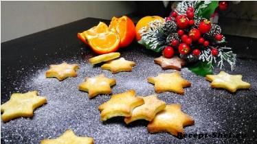Печенье Апельсиновые звезды с корицей