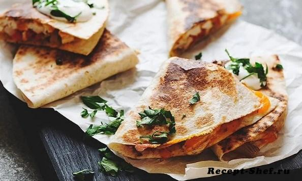 Рецепт кесадильи от шеф-повара Ильи Лазерсона