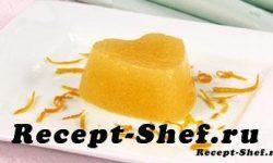 Мусс из манго с апельсиновым соком