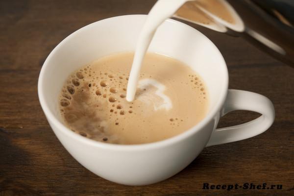 Капучино с добавлением миндального молока — подробный рецепт