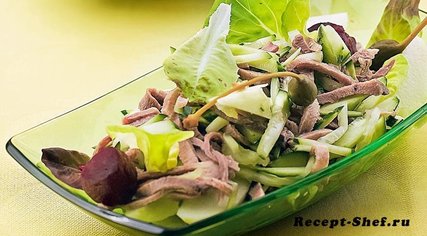 Рецепты салатов от шеф-поваров