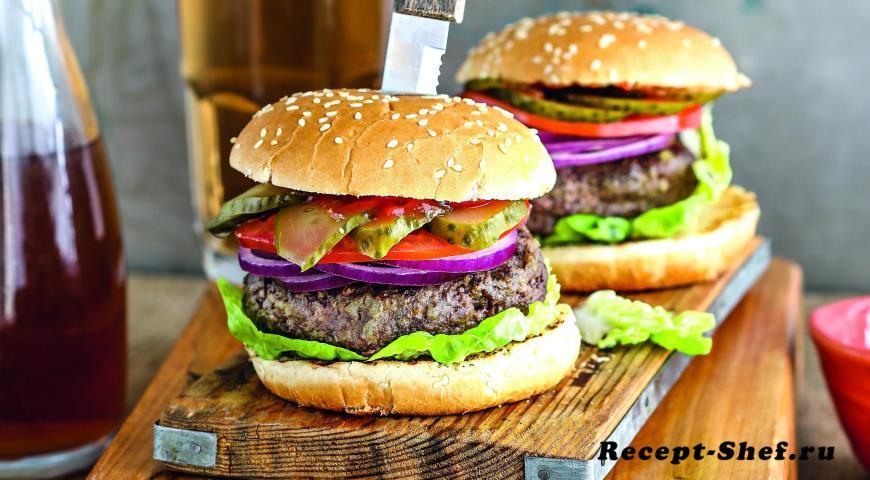 Рецепт классического бургера от шеф-повара
