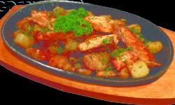 «Горячая сковорода» со свининой