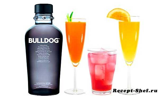 Коктейль «Bulldog G&T»