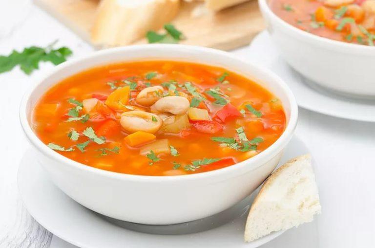 Диетический суп из фасоли красной рецепты