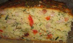 Кекс с сыром ветчиной в хлебопечке