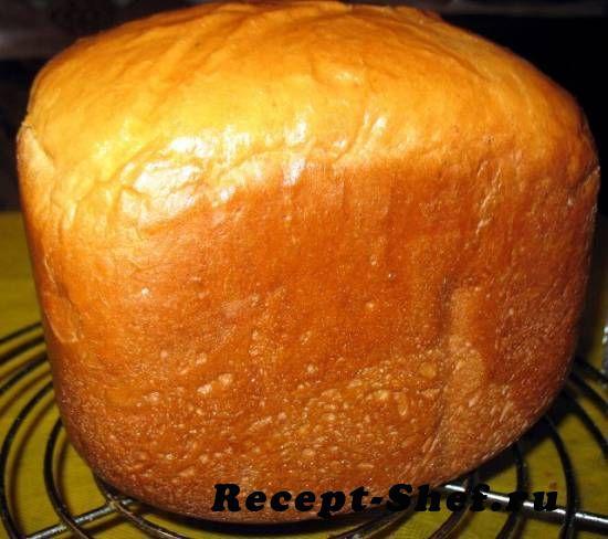 Домашний сдобный хлеб в хлебопечке