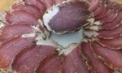 Мясо сушеное в марле